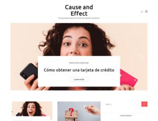 shopcauseandeffect.com screenshot
