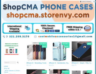 shopcma.storenvy.com screenshot
