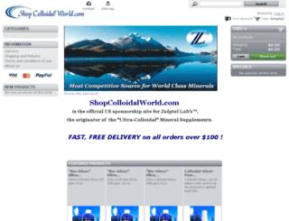shopcolloidalworld.com screenshot