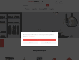 shopdirect-online.de screenshot