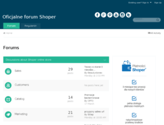 shoper.sugester.pl screenshot