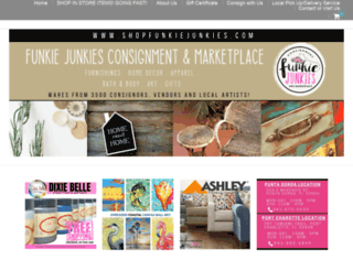 shopfunkiejunkies.com screenshot