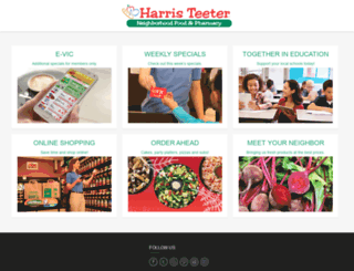shopharristeeter.com screenshot