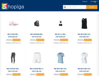 shopiga.com screenshot