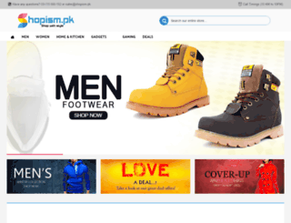 shopism.pk screenshot