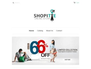 shopitie.com screenshot