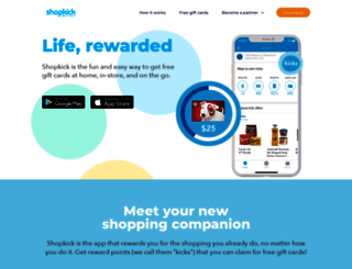 shopkick.com screenshot