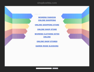 shopkoshka.com screenshot