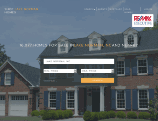 shoplakenormanhomes.com screenshot