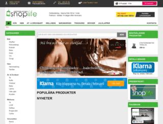 shoplife.se screenshot