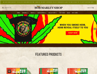 shopmarley.com screenshot