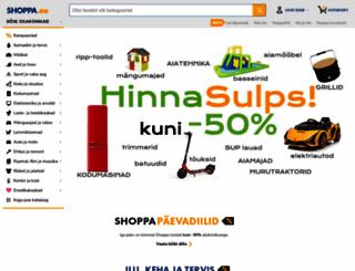 shoppa.ee screenshot