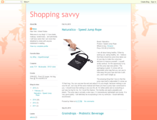 shopping-savvy.blogspot.com screenshot