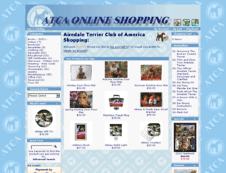 shopping.airedale.org screenshot