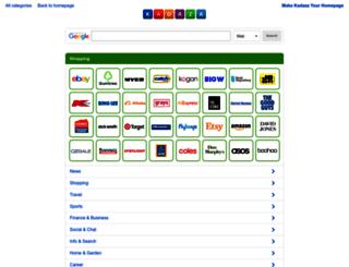 shopping.kadaza.com.au screenshot