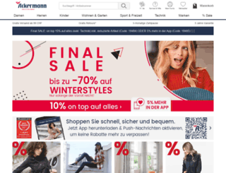 shoppingblog-ackermann.ch screenshot