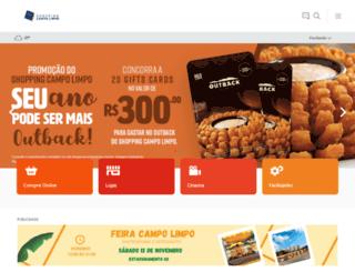 shoppingcampolimpo.com.br screenshot