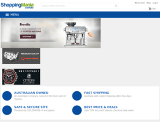 shoppingmania.com.au screenshot
