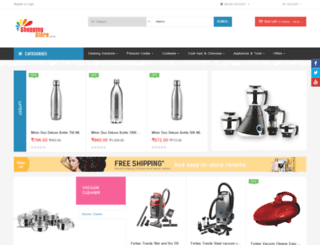 shoppingstore.co.in screenshot
