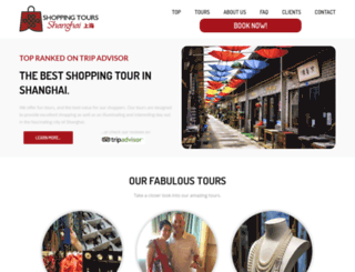shoppingtoursshanghai.com screenshot