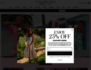 shoppinkblush.com screenshot