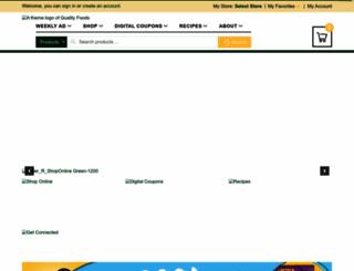 shopqualityfoods.com screenshot
