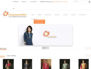 shoprparadise.com screenshot