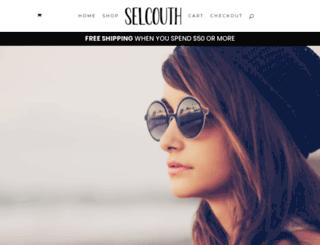 shopselcouth.com screenshot
