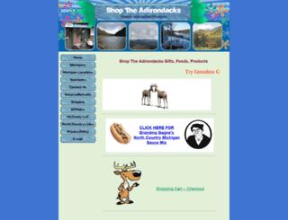 shoptheadirondacks.com screenshot