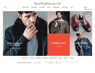 shopthefinest.com screenshot