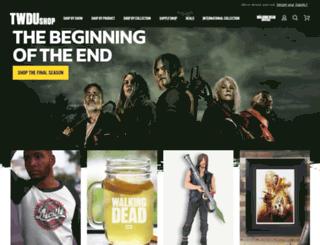 shopthewalkingdead.com screenshot