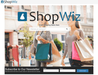 shopwiz.com screenshot