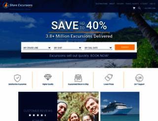 shoreexcursionsgroup.com screenshot