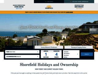 shorefield.co.uk screenshot