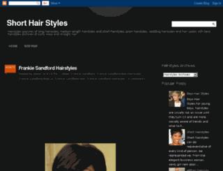 short-hair-styles-latest.blogspot.com screenshot