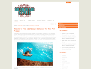 shorthair-styles.org screenshot