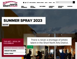shortnorth.org screenshot