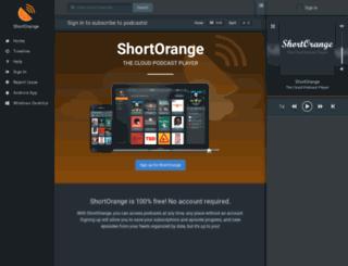 shortorange.com screenshot