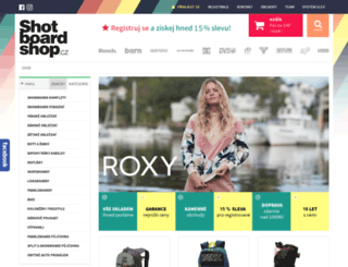 shotboardshop.com screenshot