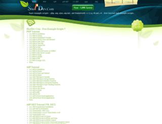 shotdev.com screenshot