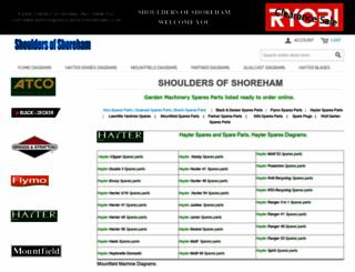 shouldersofshoreham.co.uk screenshot