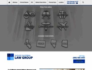 shouselaw.com screenshot