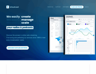 shoutcast.com screenshot