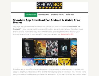 showboxapp.org screenshot