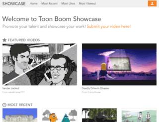 showcase.toonboom.com screenshot