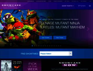 showcasecinemas.com screenshot