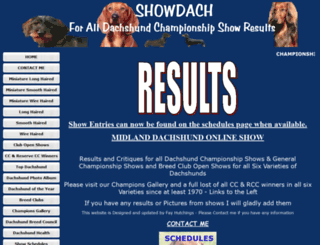 showdach.co.uk screenshot