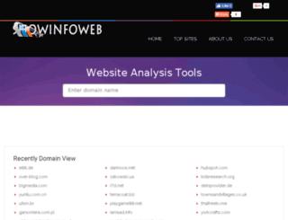showdomain.info screenshot
