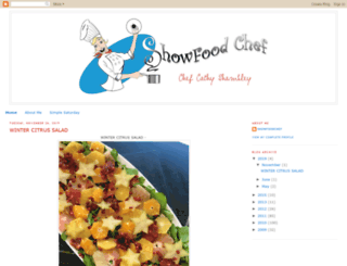 showfoodchef.com screenshot