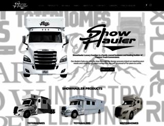showhauler.com screenshot